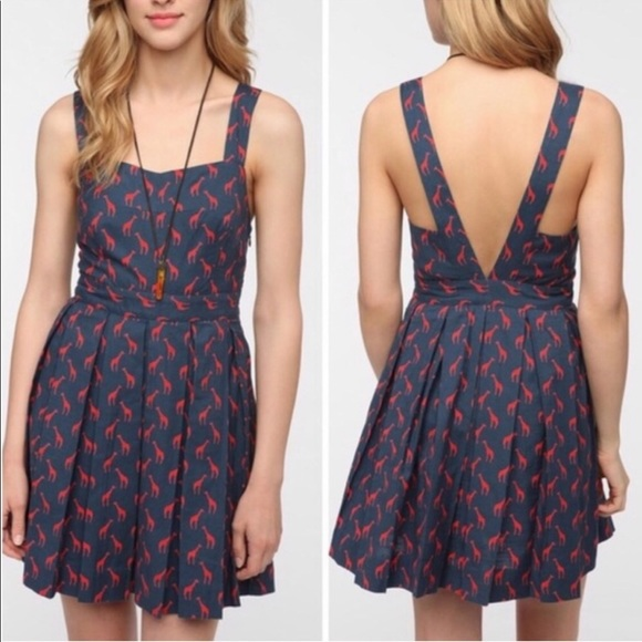 Urban Outfitters Dresses & Skirts - Urban Outfitters COOPERATIVE Giraffe Dress